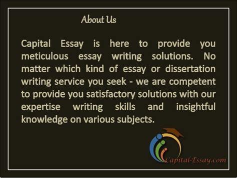 High Quality Essay by Capital Essay High Quality Essay Writing Service Provider