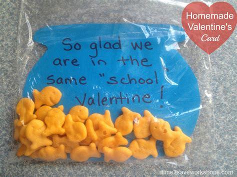 Handmade Valentines Card - cards diy goldfish s day