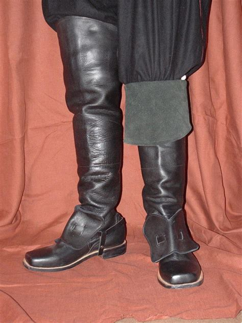 mens cavalry boots 16th century 17th century boots the