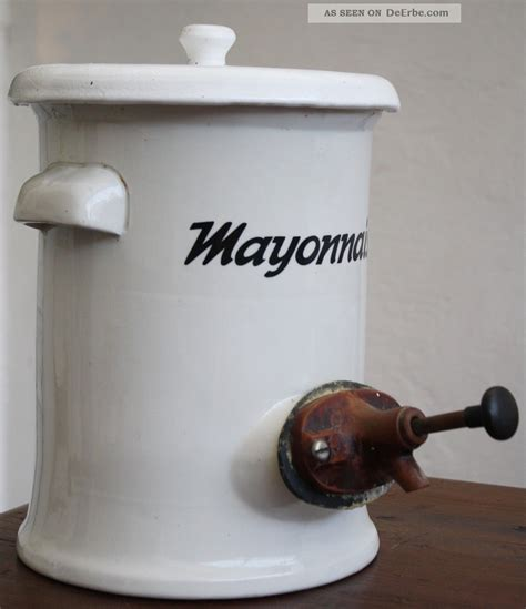 Dispenser Keramik mayonnaise mayo steingut mayonaisespender dispenser