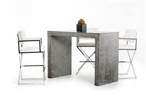 Modern Bar Table Modrest Mcgee Modern Concrete Bar Table Bar Dining