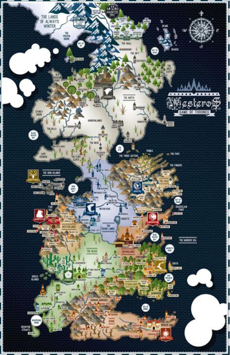 grã ne karte of thrones westeros map 17 215 11 poster bensmind