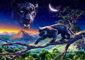 spirit black panther fantasy amp abstract background wallpapers desktop nexus image 1720332
