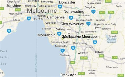 melbourne moorabbin weather station record historical