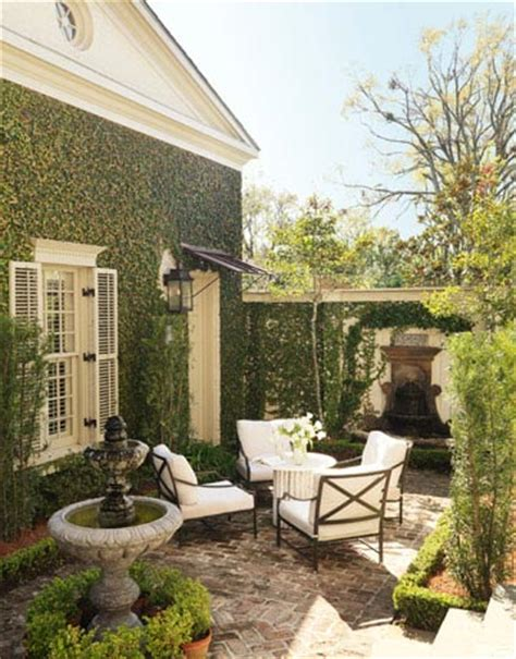 make your home beautiful house beautiful courtyard the collected room by kathryn