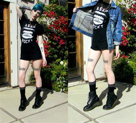 kody kelsey topic a ap rocky levi s 174 jean jacket american apparel high waisted