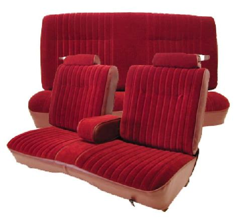 carlos upholstery 81 88 chevy monte carlo seat upholstery complete set 2