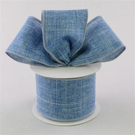 Denim Ribbon 2 5 quot royal canvas ribbon denim blue 10 yards rg127965
