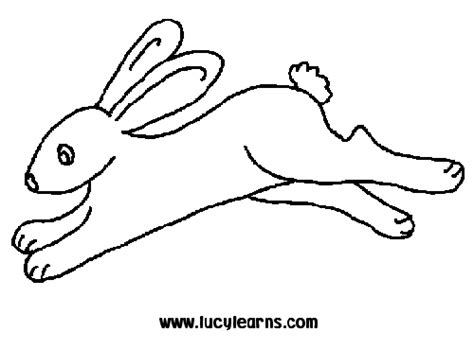 running rabbit coloring page transmissionpress bunny rabbit jumping coloring pages