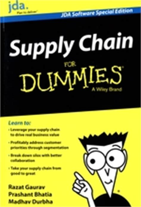 supply chain management for dummies books wydawnictwa