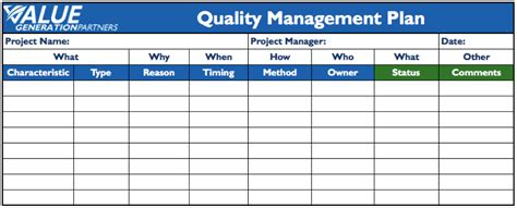 best photos of example of quality assurance plan quality assurance test plan template quality