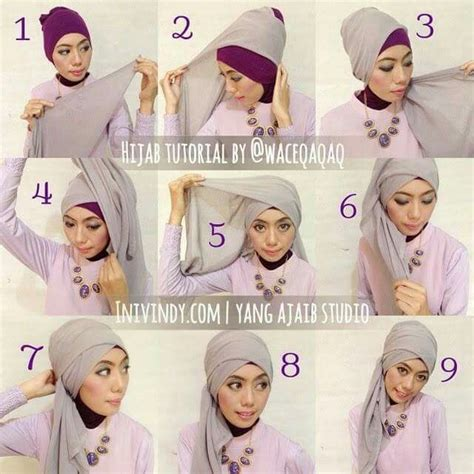 Lapak Jilbab Pashmina Glitter 012 1000 images about tutorial on simple