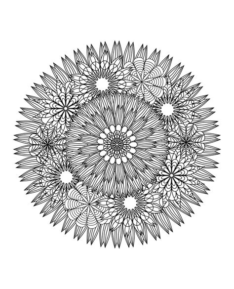mandala coloring pages for relaxation this mandala coloring book for grown ups is the creative s