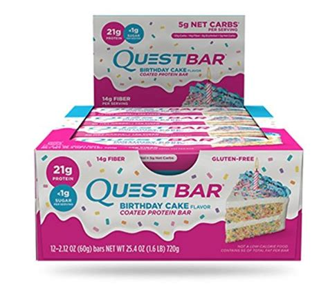 amazon quest bars amazon 12 ct of 2 1 oz quest nutrition protein bar now