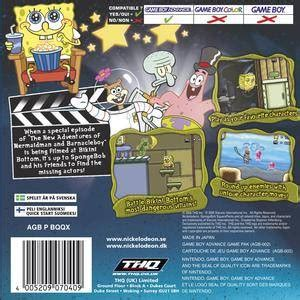 spongebob squarepants: lights, camera, pants! box shot for