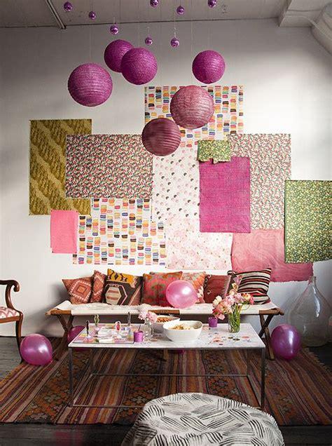 decorar paredes con telas happy 2013 from all of us at ideas para nuestras telas