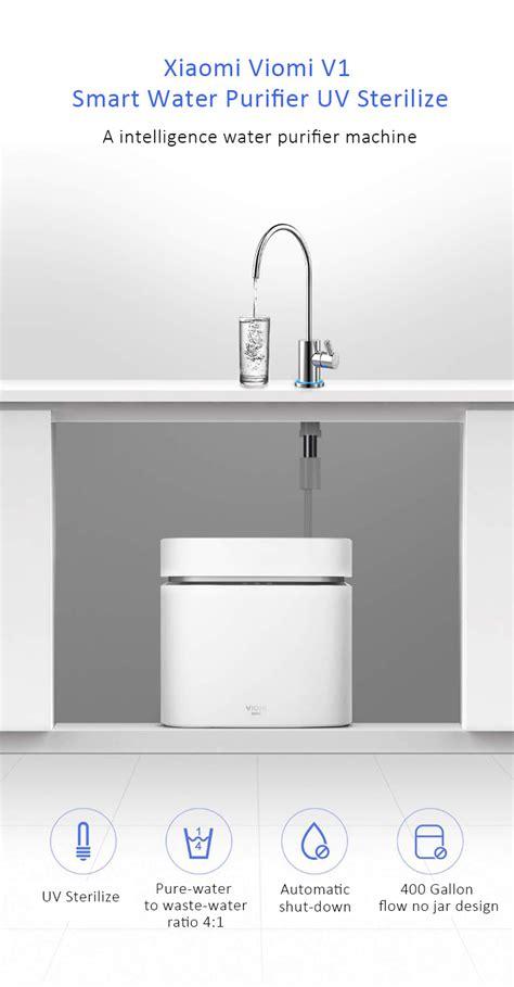 Xiaomi Mi Water Purifier White xiaomi viomi v1 smart water purifier white