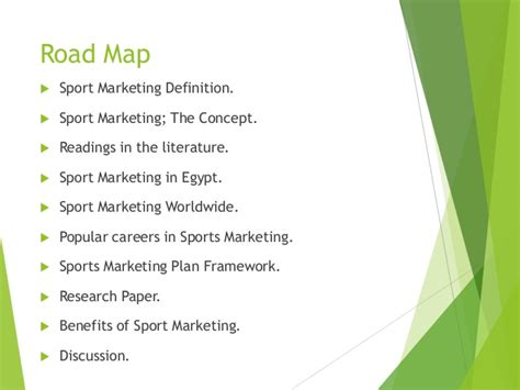 Mba Meaning In Sports by Sport Marketing Presentation German In
