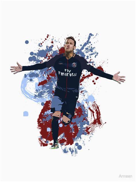 Football Artwork Messi 1 neymar psg artwork unisex t shirt neymar f 250 tbol
