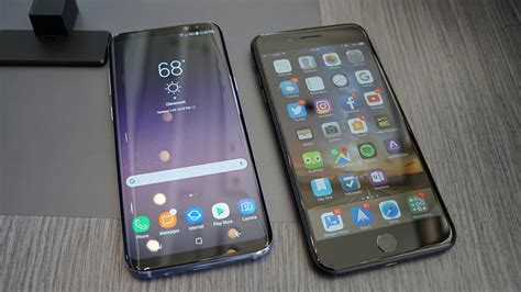 Samsung Iphone 7 duel perbandingan samsung galaxy s8 dan apple iphone 7 plus
