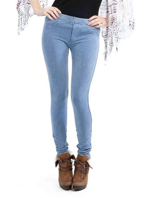 Denim Legging blue jean trendy clothes