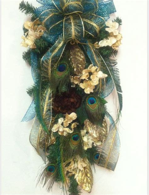 awesome peacock feather wreath decorating ideas gallery in 15 best coronas decorativas images on pinterest