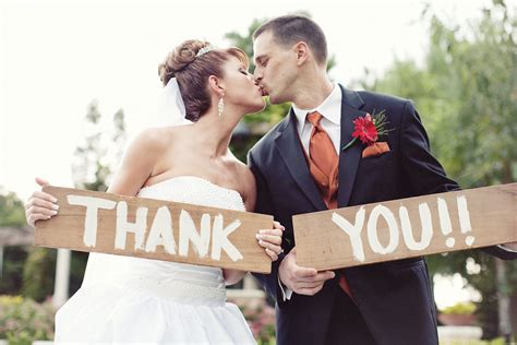 Wedding Holding Thank You Sign by Unique Event Design Llc Unique Wedding Threasa Justin