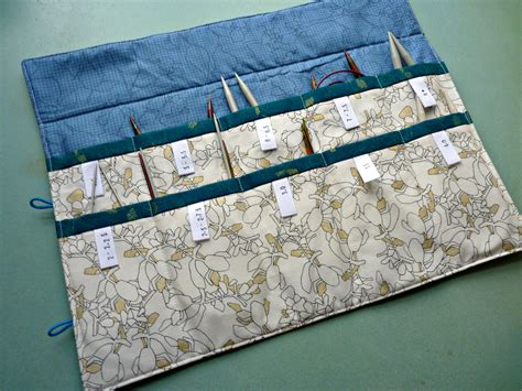 knitting needle roll tutorial emily s circular knitting needle tutorial the