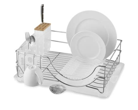 Simplehuman Drying Rack by Simplehuman System Dish Rack With Glass Dryer Williams