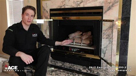 how to fix gas fireplace turning on pilot light on fireplace no heat trouble
