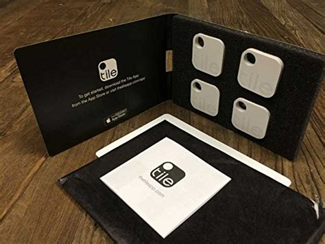 The Tile Bluetooth Tile 1 Item Finder For Anything 4 Pack Save 30
