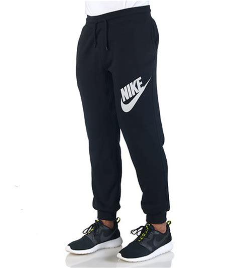 nike clothes nike sportswear aw77 fleece cuff logo pant black jimmy jazz 647567010