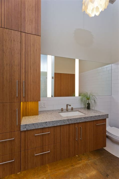 images  cabinets bamboo bathroom vanities  pinterest contemporary bathrooms
