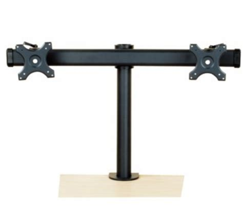 tyke supply dual monitor stand curved arm desk cl