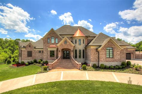 stonecroft homes european estate traditional exterior