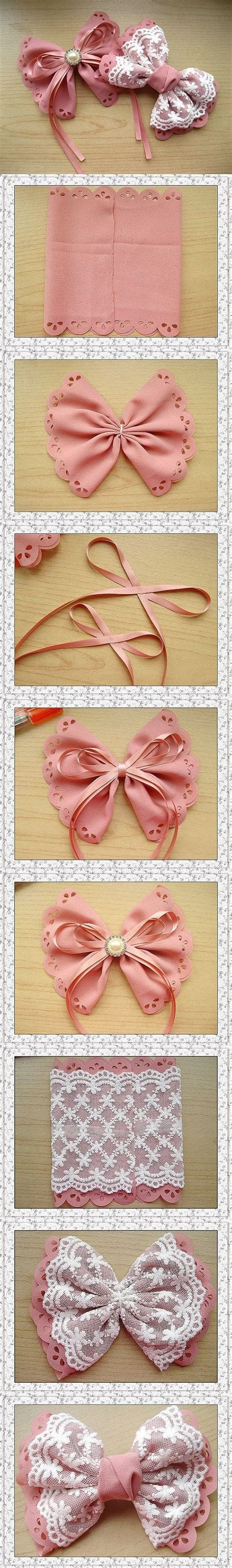 Easy Handmade Accessories - 1000 ideas about easy hair bows on bow