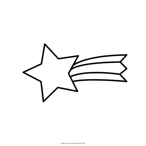 coloring page of a shooting star shooting star coloring page ultra coloring pages