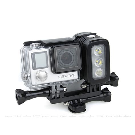 Flash Gopro underwater gopro accessories waterproof led flash light