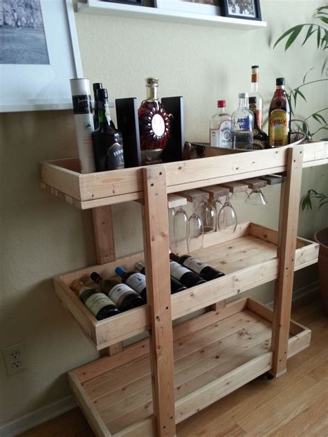 Mobile Kitchen Island Ikea by 14 Inspiring Diy Bar Cart Designs And Makeovers