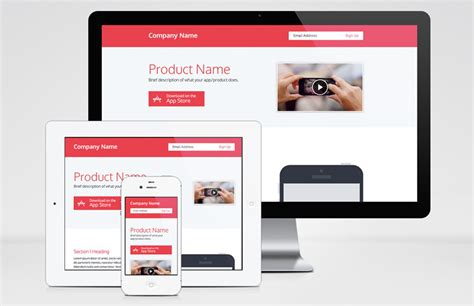 Responsive Product Page Template Medialoot Product Page Design Template