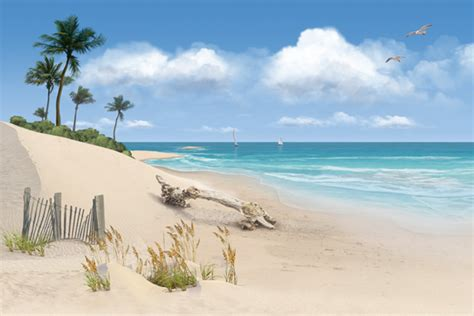 beach mural bmcelhaney illustration graphics