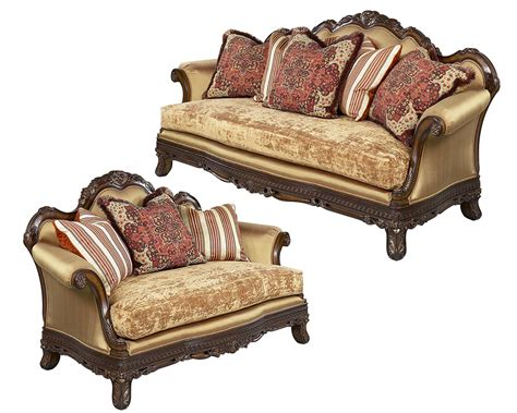 traditional sofa traditional sofa set ornella by benetti s btor325set