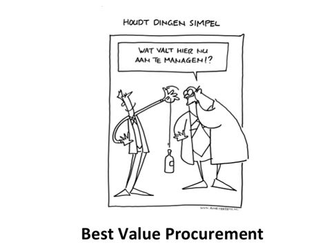 best value procurement susan van hes best value approach
