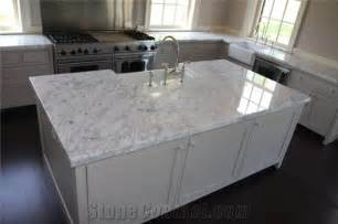 White Marble Kitchen Countertops by Carrara White Marble Kitchen Countertops White Marble Kitchen Island Countertops From