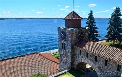 meanderings among a thousand islands or an account singer castle in thousand islands tour historic spot on