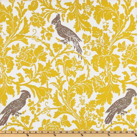 yellow pattern material premier prints barber slub yellow taupe discount