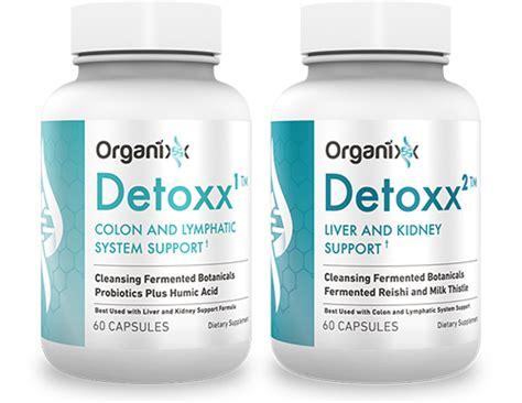 Epigenteics Optimoxx Labs Detox Reviews by Detoxx Package Cleanse System Organixx