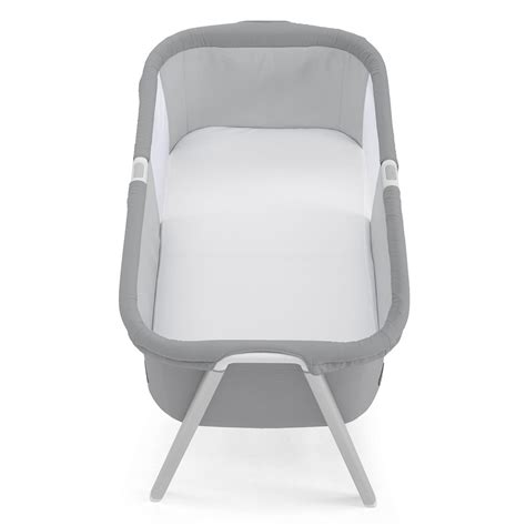 Compact Travel Crib by Chicco Lullago Crib Silver Light And Compact Travel Cot Crib Ebay