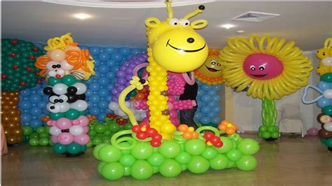 decoraci 211 n en globos para fiestas infantiles imagens - Decoracion Globos Fiestas Infantiles