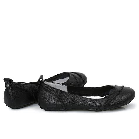 Hush Pupies 3 hush puppies janessa black womens flats ballerina shoes